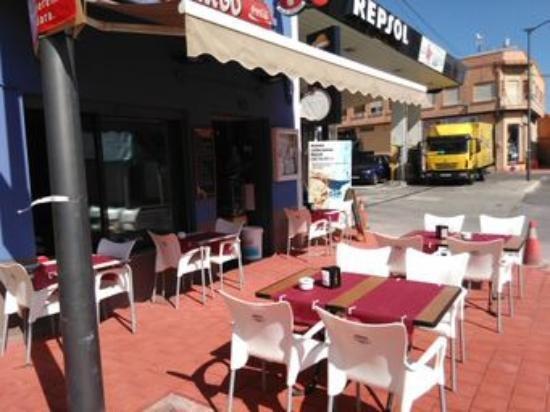 Foto terraza gallego Ondara