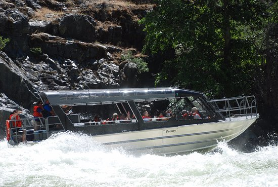 Riggins, ID: Jet Boat Tour in Hells canyon