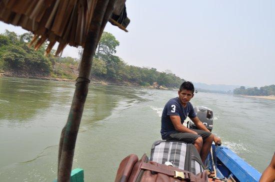Rio Dulce, Guatemala: переход Гватемала-Мексика