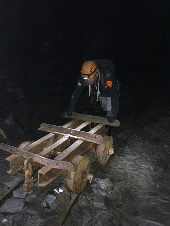 Go Below Underground Adventures: Slave labour