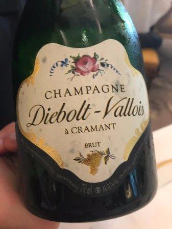 Le Cinq: Champagne