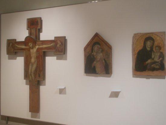 Buonconvento, إيطاليا: Dipinti della sala 1