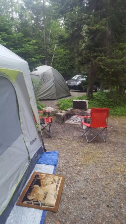 Seawall Campground: No reason to make camp site less then 10 feet apart