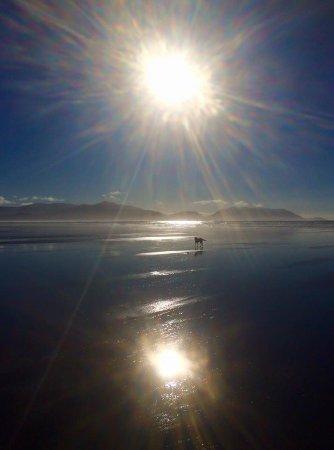 Sublime light on Inch Beach