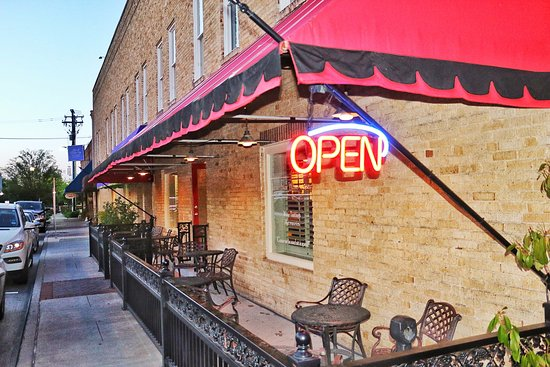 McKinney, TX: Enjoy sipping wine on the patio!