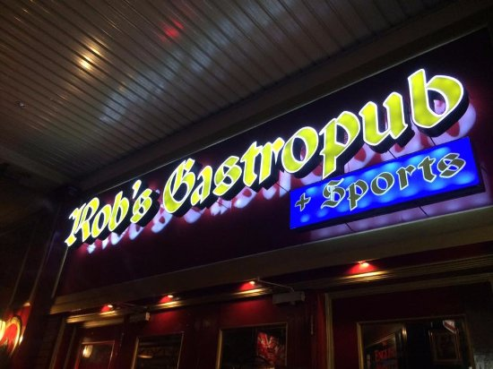 rob s gastropub sports the no 1 sports pub in angeles city