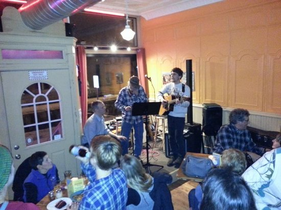 Park Falls, WI: There is open mic every Wednesday night, starting at 7 p.m., and an occasional Friday.