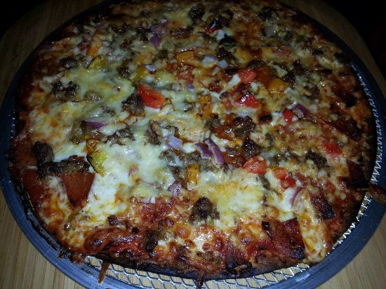 Park Falls, WI: Classic Italian is made with thick pepperoni, pork sausage seassoned onsite, and 5 WI cheeses.