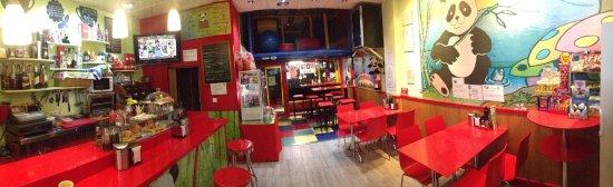 Cenes de La Vega, Spagna: Algunos de los productos que ofrece Cafeteria Pandi-ya