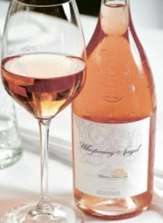 Williamsville, NY: Serving the light and crisp dry Whispering Angels Rose
