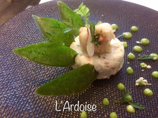 Gensac, France: Restaurant L'Ardoise