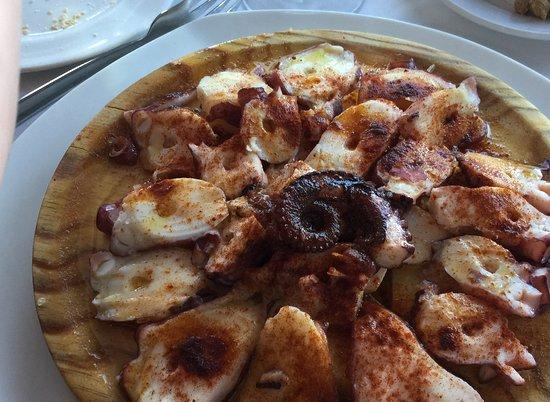 Restaurant Ca'n Josep: Octopus 'Galician' Style