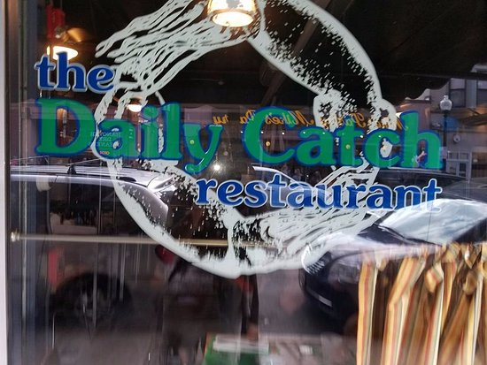 The Daily Catch on Hannover, a must in Little Italy. Worth the line.