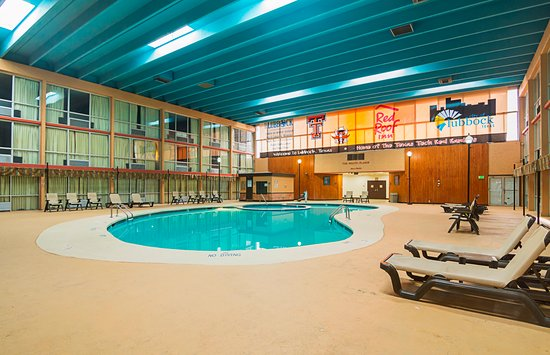 Red Roof Inn & Conference Center Lubbock: Indoor Pool/Hot Tub