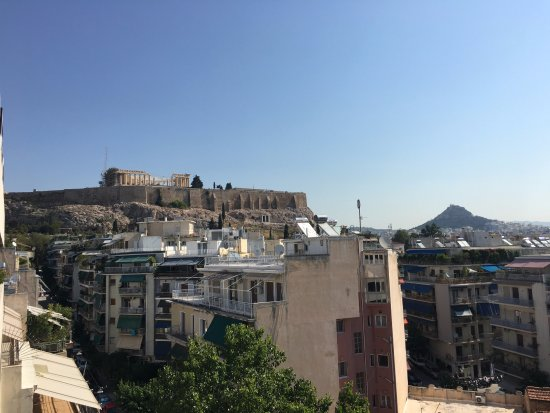 Divani Palace Acropolis: View from 7th Floor Balcony Room