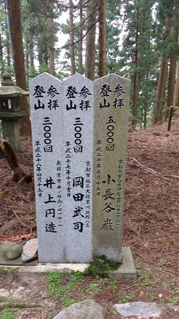 these people hiked the mountain 3 000 3 000 and 5 000 times