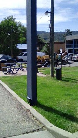 Travelodge by Wyndham Durango: Smoking/pet area