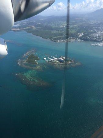 Culebra Divers: Nature reserve on flight to Culebra