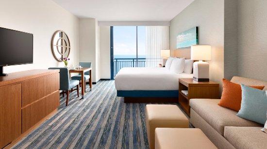Hyatt House Virginia Beach Oceanfront Studio Kitchen Suite One King Bed Plus