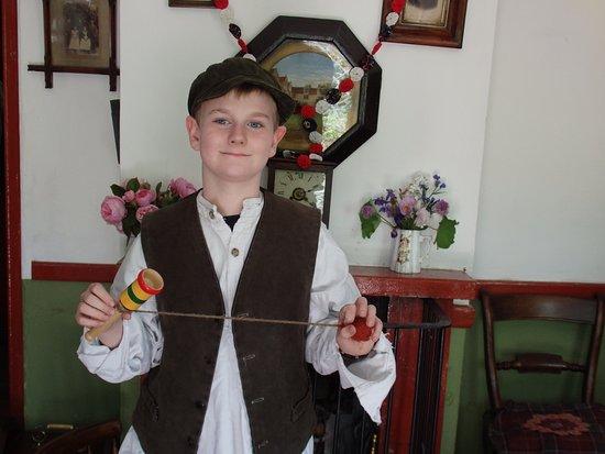 "Ironbridge, UK: A ""Victorian"" boy"