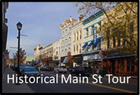 Nyack's Main Street... today