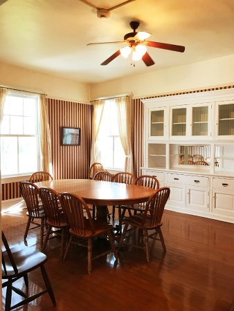 Fort Robinson State Park Dining Room With Built In Buffet