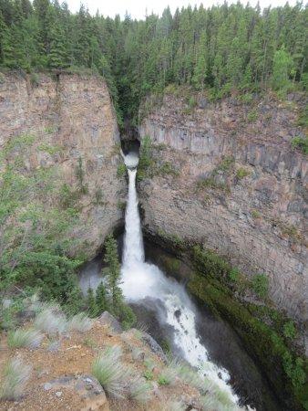 Wells Gray Provincial Park: Spahats Falls