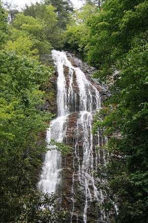 Mingo Falls: Summer view with less water falling.