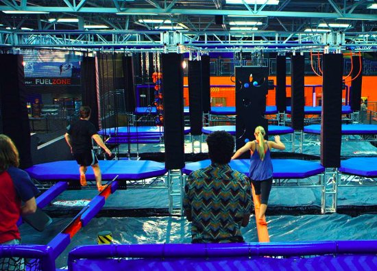 Дейтона-Бич, Флорида: Our MASSIVE 3-lane elevate Warrior Course puts your athleticism to the test!