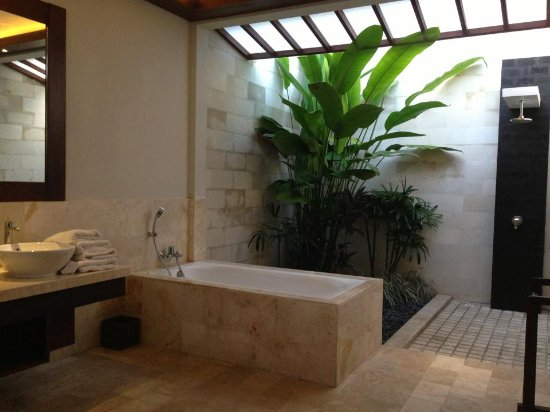 Lumbini Luxury Villas and Spa : One of the most amazing bathrooms in THE WORLD