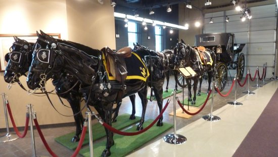 Ottawa, Canada: Royal Canadian Mounted Police Musical Ride Centre