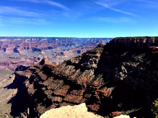 Tusayan, AZ: View from the South rim