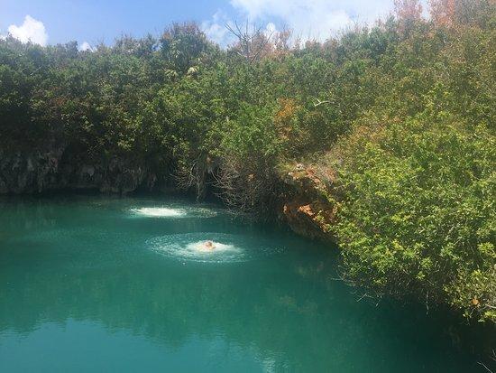 Приход Сэндис, Бермуды: Cliff jumping