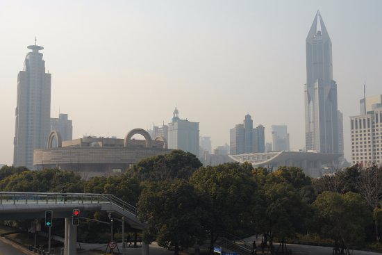 Shanghai Urban Planning Exhibition Hall : Shanghai, Cina