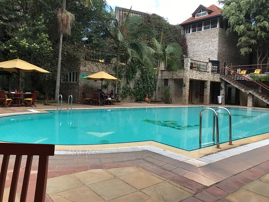 Pool Bar Area Picture Of Fairview Hotel Nairobi