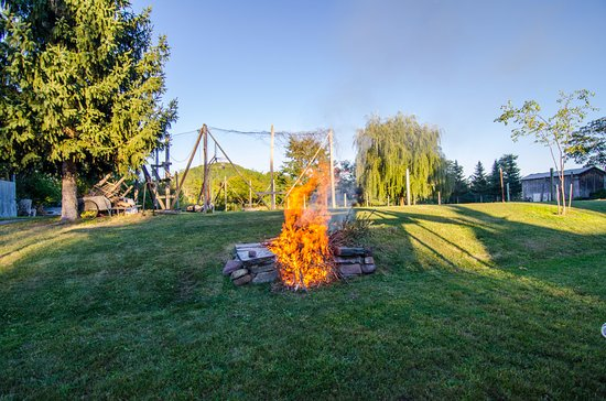 Charlotte, VT: Enjoy our firepit