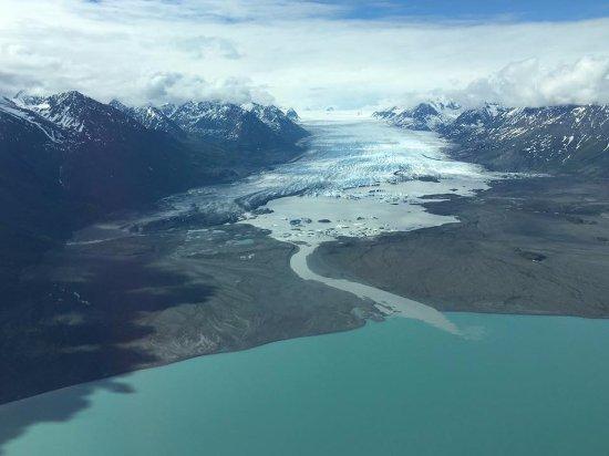 Glennallen, AK: glacier 1h tour