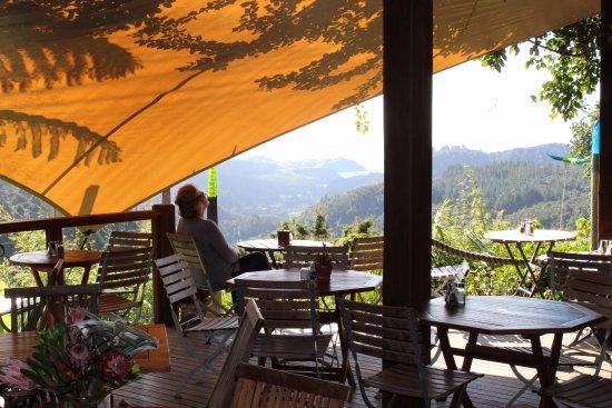 Whananaki, Nouvelle-Zélande : Cafe and View