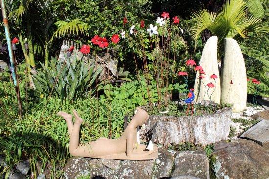 Whananaki, Nouvelle-Zélande : Art in the Garden