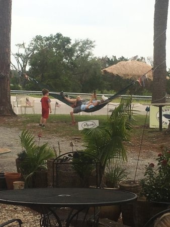 Harbor Island, SC: Hanging out in the hammock!