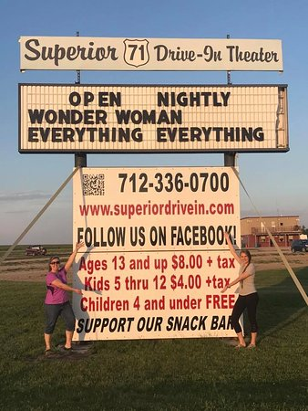 Spirit Lake, IA: My two Wonder Women