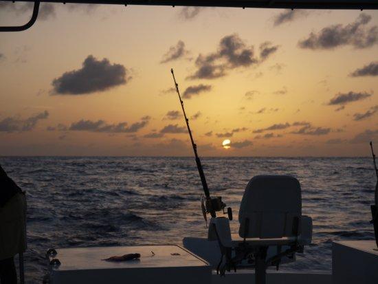 Kuramathi Island Resort: Game Fishing - The hot seat