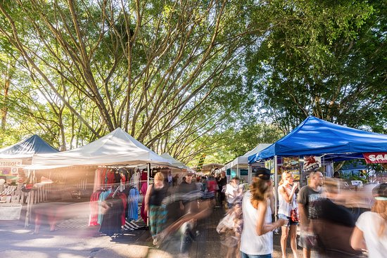 The world famous Original Eumundi Markets open every Wednesday and Saturday.