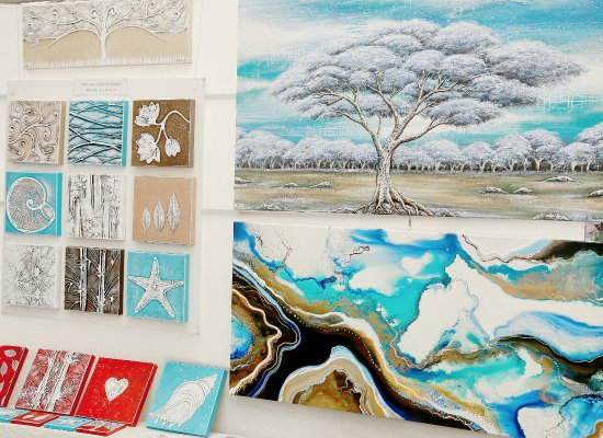 Eumundi, Australia: The innovative, exciting and emotive art by Amelia Farrugia.