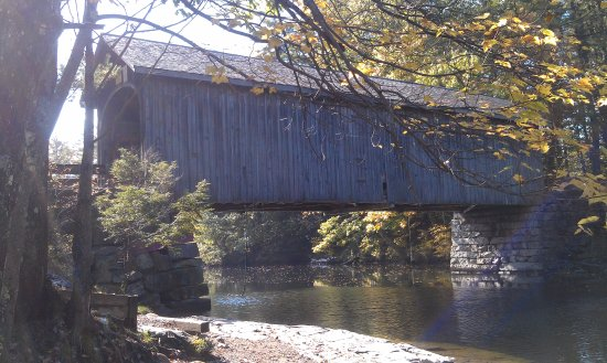 Raymond, ME: Babb's Covered Bridge, Windham/Gorham, Maine