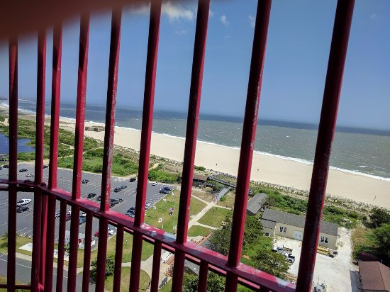 Cape May Lighthouse: View from Top of Lighthouse