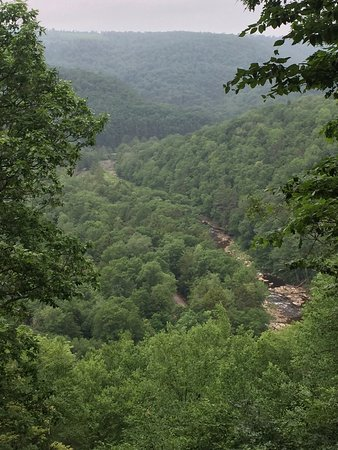Forksville, Pensilvania: View from Butternut Trail