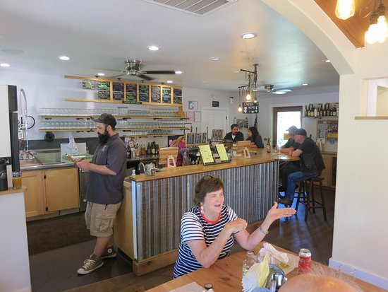 Murphys, CA: View of bar and counter