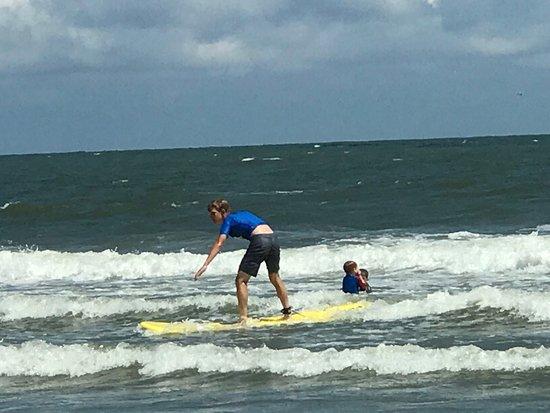 Folly Beach, Karolina Południowa: Charleston Surf Lessons