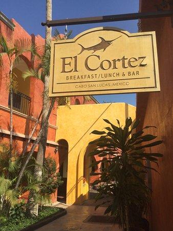 Hotel Mar de Cortez: Great restaurant for breakfast